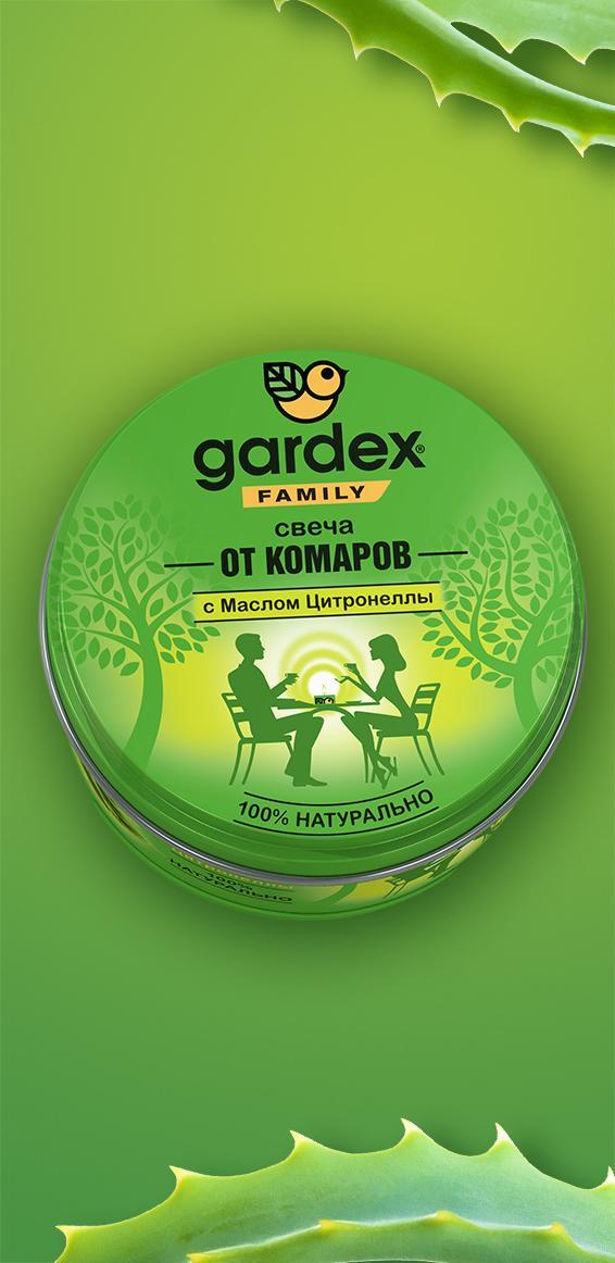 Свеча репеллентная от комаров от Gardex