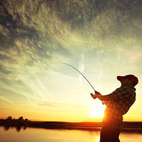 Компактная удочка для рыбалки